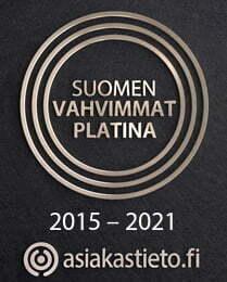 Suomen vahvimmat platina 2015-2021 asiakastieto.fi